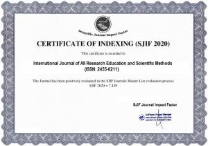 IJARESM Impact Factor 7.429